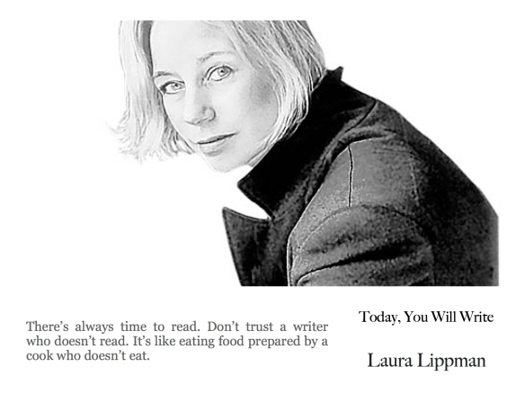 21st june Laura Lippman - there's always time to read.jpg